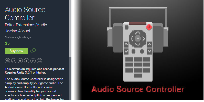Audio Source Controller 1.1